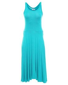 Nucleus Ballerina Dress Turquoise
