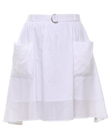 Nucleus While In The Country Skirt White