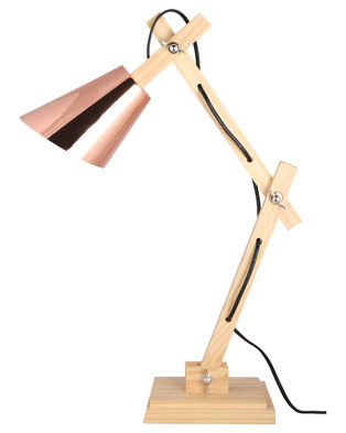 Image of illumina urban lamp wood copper