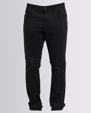 Zando SA Globe Goodstock Skinny Denim Jeans Black