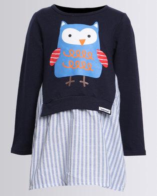Image of Bugsy Boo Owl Dress Multi