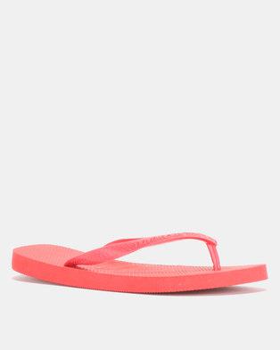 38e472035 Havaianas Top Basic Flip Flops Ruby Red - Havaianas