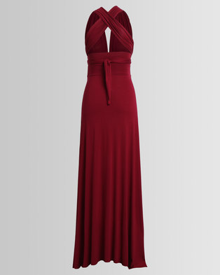 Image of Me-A-Mama Infinity Dress Beetroot