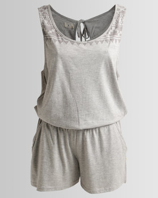 Image of Lizzy Calia Playsuit Grey
