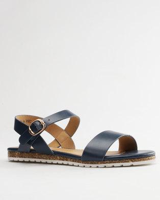 44bf1332aa57 Image of Pierre Cardin Ladies Sandals Comfort Navy