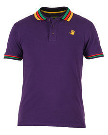 46664 Golfer T-Shirt Purple