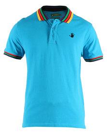 46664 Golfer T-Shirt Blue