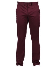 46664 Cotton Stretch Chinos Red