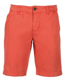 46664 Chino Shorts Orange