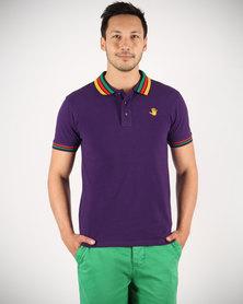 46664 Golfer T-Shirt Purple