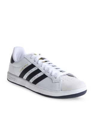 adidas grand prix sneakers white zando. Black Bedroom Furniture Sets. Home Design Ideas