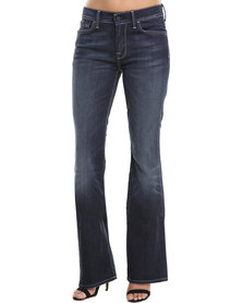 7 For All Mankind High Waisted Bootcut Jeans Blue