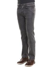 7 For All mankind Slimmy Slim Straight Leg Grey