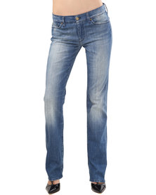 7 For All Mankind Josefina Jeans Blue