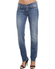 7 For All Mankind Roxanne Jeans Blue