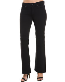 7 For All Mankind Charlize Flare Trouser Black