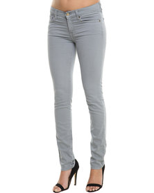 7 For All Mankind Gwenevere Super Skinny Jeans Grey