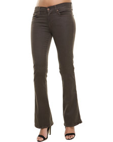 7 For All Mankind Kaylie Slim Fit Bootcut Brown
