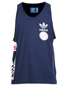 adidas Street Graphic Tank Top Blue