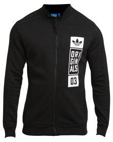 adidas Street Grp TT Sweatshirt Black