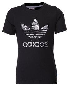 adidas J MS Tee Black