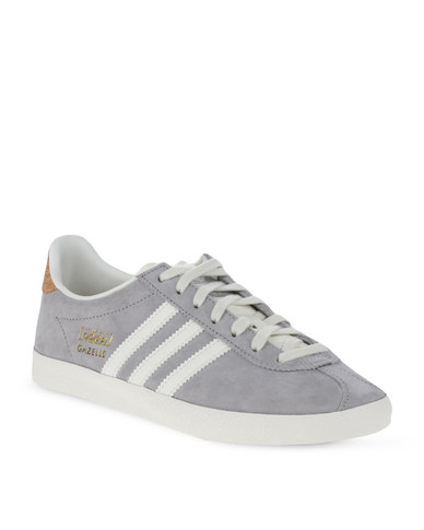 light grey adidas gazelle