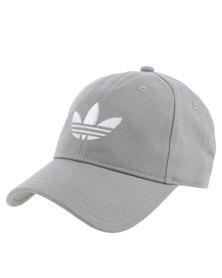 adidas Trefoil Cap Grey