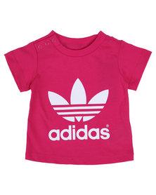 adidas Trefoil Tee T-Shirt Pink