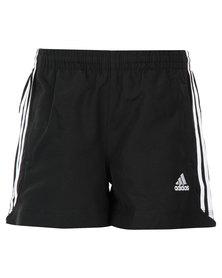 adidas Essentials 3-Stripes Shorts Black