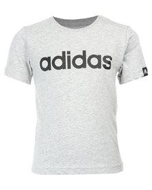 adidas Essentials Linear Tee Grey
