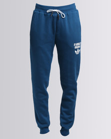 adidas Regular Cuffed Sweatpants Blue