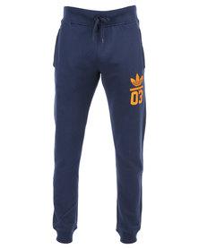 adidas Originals Cuffed Pants Navy