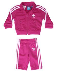 adidas Firebird Tracksuit Pink