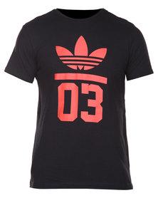 adidas Adi M 3Foil Tee Black