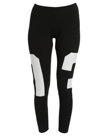 adidas Basketball Legging Black