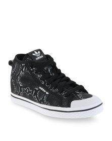 adidas Honey Up Snakeskin Sneakers Black