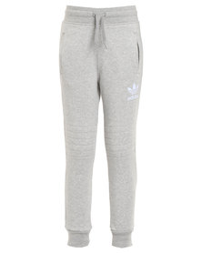 adidas J Fleece Pants Grey