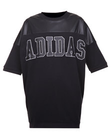 Adidas HNY Faux Lea Dress Black