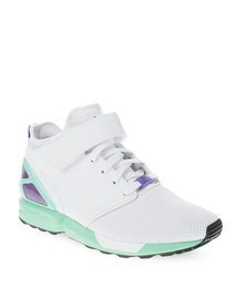 adidas ZX Flux NPS Mid Sneakers White