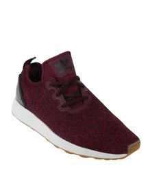 adidas ZX Flux ADV Racer ASYM Casual Sneaker Maroon