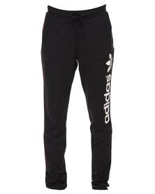 adidas Light Logo Track Pants Black