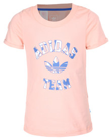 adidas J GV Tee Pink