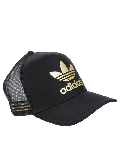 Adidas Hat Black And Gold