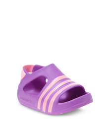 adidad Adilette Play Sandals Purple