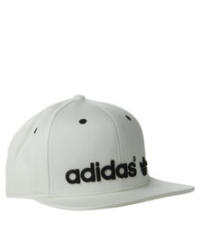 Adidas Fitted Cap White