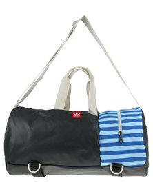 Adidas Duffel Sports Bag Black/Blue