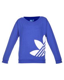 adidas Light Logo Sweater Blue