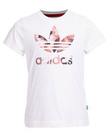 adidas Trefoli T-Shirt White