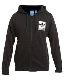 adidas Street Graphic Full-zip Hoodie Black