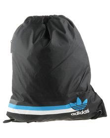 Adidas Stripe Gymsack Black